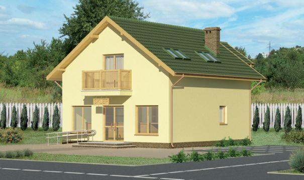 Dom z lokalem usługowym. Przegląd projektów domów