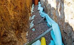 Drenaż opaskowy - bezpieczne odprowadzenie wody gruntowej od fundamentów domu