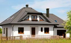 Budowa domu jednorodzinnego z dodatkowym lokalem handlowym
