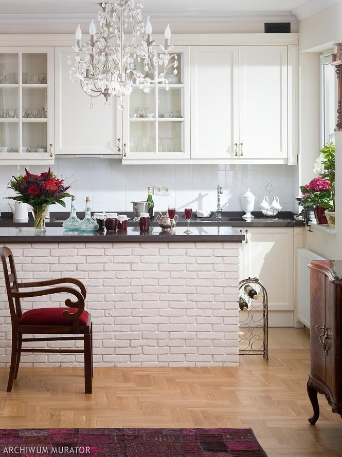 Żyrandol w kuchni