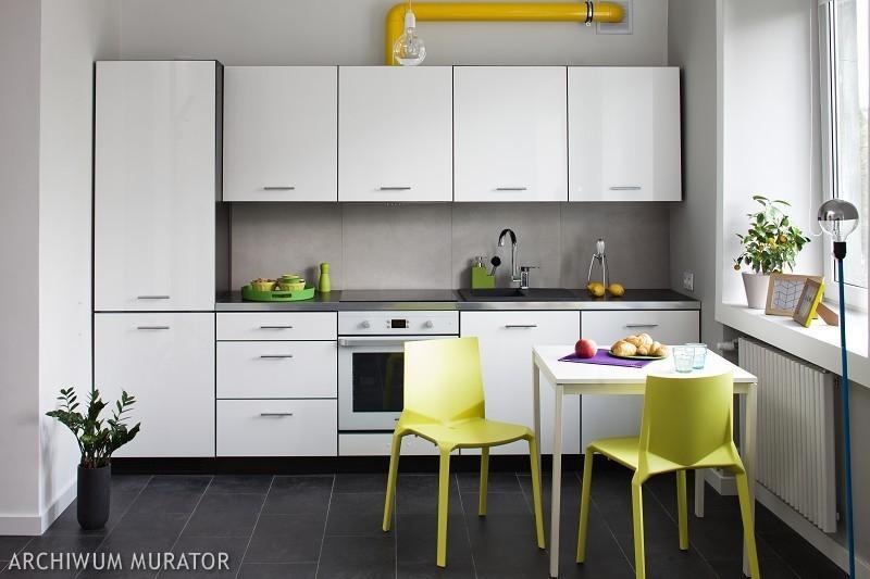 Galeria zdjęć  Kuchnia biała, kuchnia szara 10 aranżacji   -> Szara Kuchnia Jasny Blat