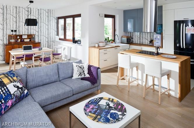 Kuchnia otwarta na salon 9 aranżacji kuchni z salonem   -> Kuchnia Nowoczesna Z Salonem