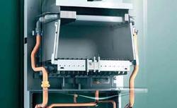 Kocioł gazowy z zamkniętą komorą spalania - bezpieczny, nawet w małej łazience