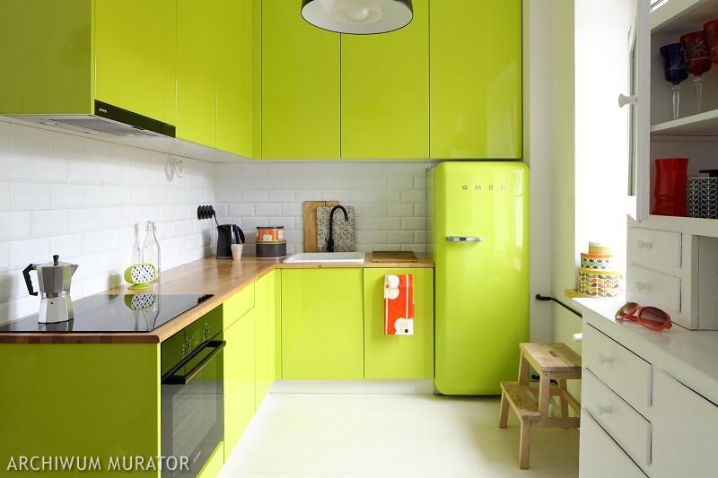 Galeria zdjęć  Nowoczesna kuchnia na wysoki połysk   -> Kuchnia Tapeta Czy Farba