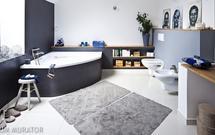 15 pomysłów na szarą łazienkę. Aranżacje szarych łazienek nowoczesnych i eleganckich