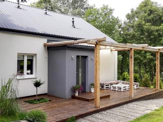Przebudowa niewielkiego domu