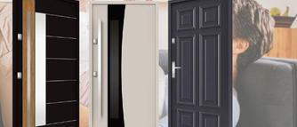 Eleganckie, bezpieczne i ciepłe drzwi metalowe do domu
