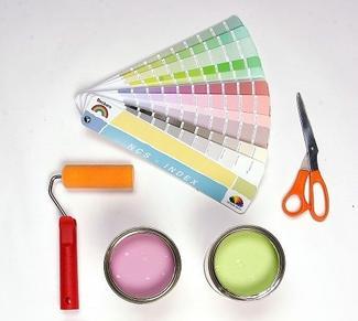 Kolory farb a wzornik kolorów. Wybieramy farbę ze wzornika - wzornik kolorów
