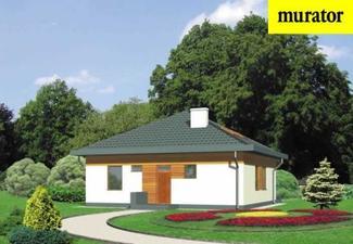 Murator projekt D33 Nieduży - front