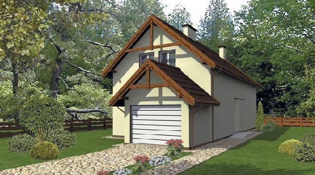 Projekt domu D70 Zgrabny